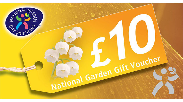 £10 Voucher for National Garden Centre